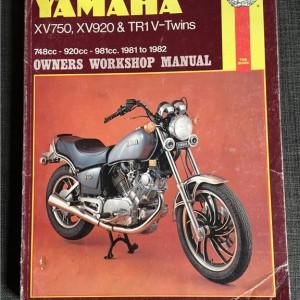 Versktadshandbok YAMAHA XV750, XV920 & TR1v-Twins År:1981-1982