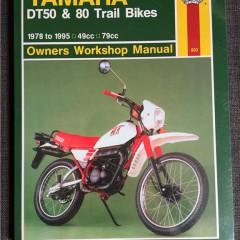 Versktadshandbok YAMAHA DT50 & 80 År:1978-1995