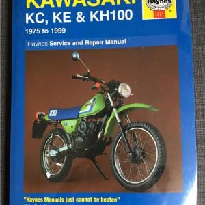 Versktadshandbok KAWASAKI KC, KE & KH100 År:1975-1999