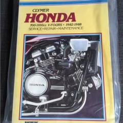 Versktadshandbok Honda 700-1100cc 1982-1988