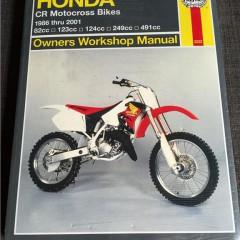 Versktadshandbok Honda CR Motocross 1986-2001