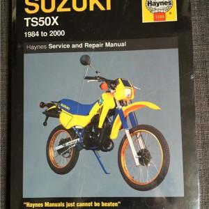 Versktadshandbok SUZUKI TS50X År:1984-2000