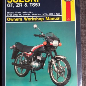 Versktadshandbok SUZUKI GT, ZR & TS50 År:1979-1984