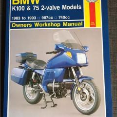 Versktadshandbok BMW K100 & 75 2-valve models År:1983-1993
