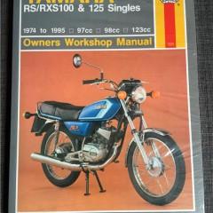 Versktadshandbok YAMAHA RS/RXS100 Singles År:1974-1995
